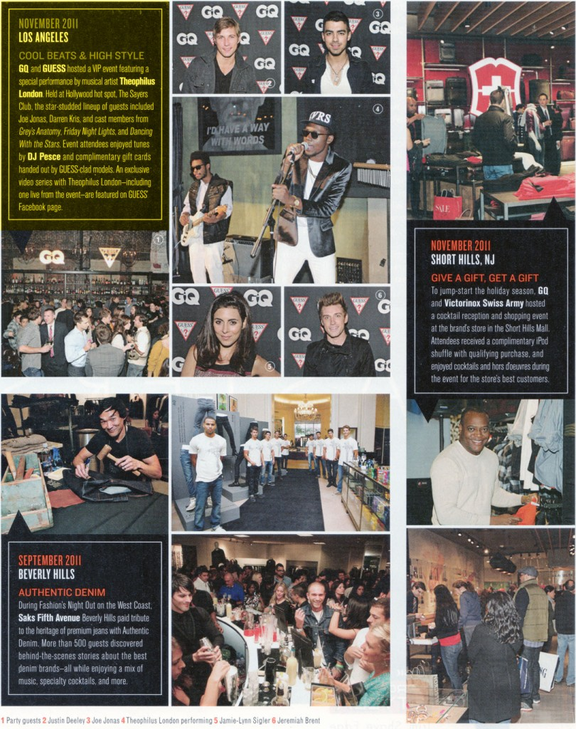GQ Magazine Feb 2012