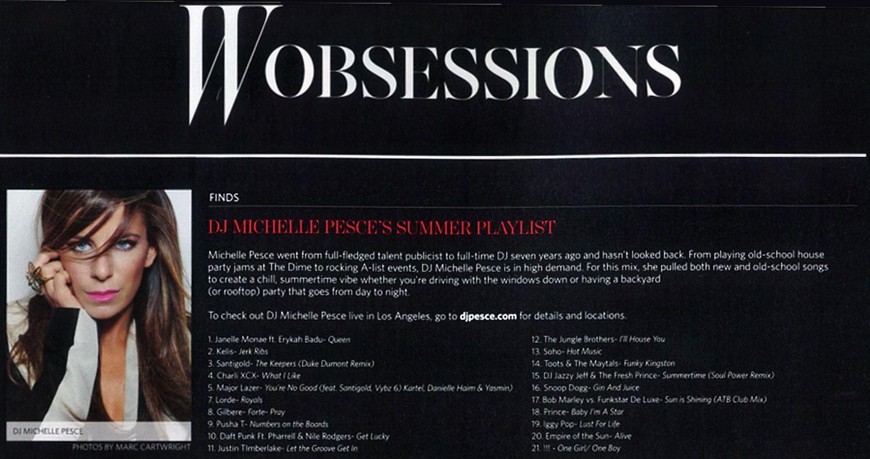 W Magazine August 2013