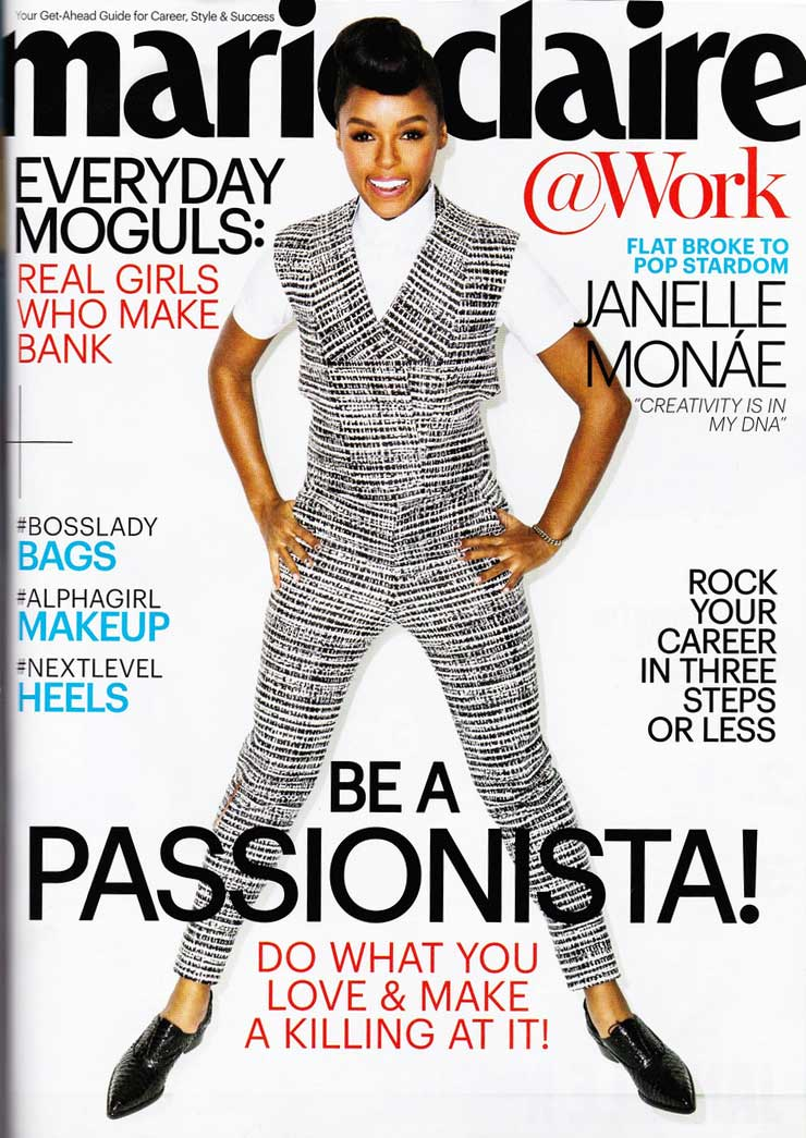 Marie Claire - Be a Passionista!